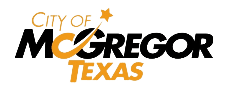 City of McGregor, TX logo